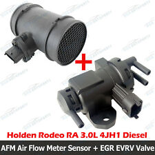 Air Flow Meter Sensor + EGR EVRV Valve for Holden Rodeo RA 3.0L 4JH1 03-06