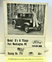 Model A's & Things Ford Parts Catalog No. 776