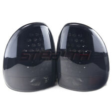 Stealth 1996-2003 Dodge Van & Durango LED Tail Lights - Black/Smoke