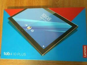 Lenovo Tab 4 10 Plus 4GB RAM + 64GB Storage Wifi+BT+LTE