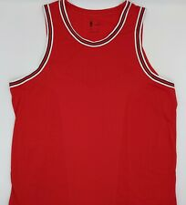 Nike NBA Authentic Blank Aeroswift Basketball Jersey Ah8792 657 Red Sz 52 XL