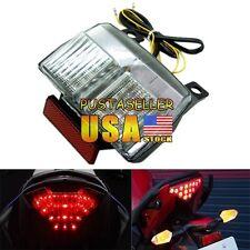 US Stock Clear Tail Light Turn Signal Ducati 748 916 996 998 1994-2003 2001 2002