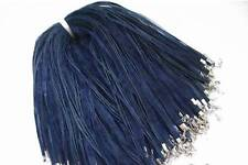 Wholesale 50pcs NAVY BLUE RIBBON VOILE CORD NECKLACES