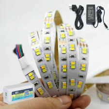 5m 10m CW/WW Dual White CCT LED Strip Light Alexa WIFI SMD 2835 DC 24V tape lamp