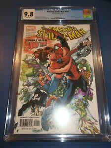 Amazing Spider-man #500 J Scott Campbell Cover CGC 9.8 NM/M Gorgeous Gem wow