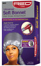 Red by Kiss Soft Bonnet Universal Hair Dryer Attachment with Shower Cap KBODAWM