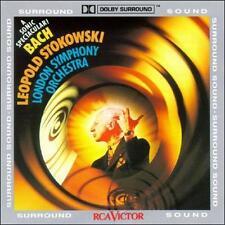 Leopold Stokowski Conducts Bach 1992 by Johann Sebastian Bach; Leopold Stokowski