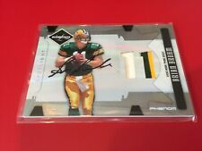 Brian Brohm Packers 2008 Leaf Limited Rookie RC 3-CLR Patch Auto card /49