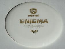 Disc Golf Discmania Evolution Neo Plastic Enigma Distance Driver 173g White