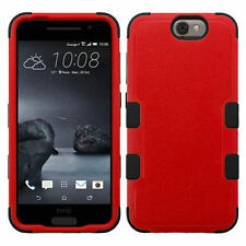 Plain Rigid Plastic Fitted Cases for HTC Cell Phones