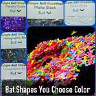 BAT Shape Glitter~U CHOOSE~Nail•Acrylic•Gel•Body Art•Face•Festival•Crafts