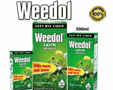 WEEDOL GRASS WEED KILLER LAWN- DANDILIONS DAISIES GARDEN - KILLS WEED - NOT LAWN