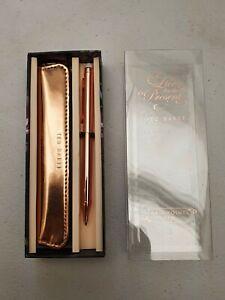 Ted Baker Rose Gold ballpoint pen