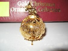 23KT GOLD ORNAMENT FROM THE DANBURY MINT