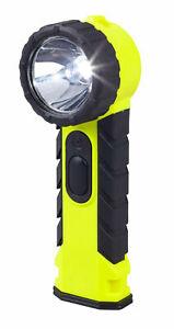 Feuerwehr Hand-Lampe - Winkelkopf - Knickkopf - Handleuchte - ATEX - EX-Schutz