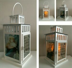 Memorial Lantern, Personalise/photo - Clear Printed Film for IKEA LANTERN BORRBY