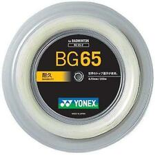 YONEX Bg65 Badminton String Reel 200m White