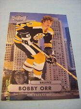 "2013-14 Fleer Showcase ""Metal Universe"" # MU-1 Bobby Orr!"