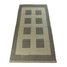 Tapis gris pour la maison, en 100% coton