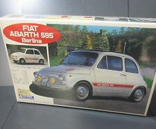 NIB RARE SEALED VTG FIAT ABARTH 595 BERINA GUNZE SANGYO PLASTIC MODEL KIT 1/24