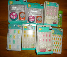 HUGE 20 lot New Wilton Easter Cake decorations Icing kits bunnies carrots Bunny