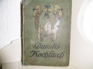 Henriette Davidis - Praktisches Kochbuch - Ausgabe von 1907 - Antikes Buch