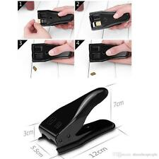 New 2 iN 1 Dual Micro & Nano Sim Cutter For iPhone 4S 5s 6 7 iPad + Adapter