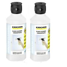Karcher RM 500 Window Vac WV Vacuum Window Concentrate Cleaner 62957950 X2-500ml