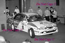 Pentti Airikkala Mitsubishi Galant VR-4 Winner RAC Rally 1989 Photograph 2