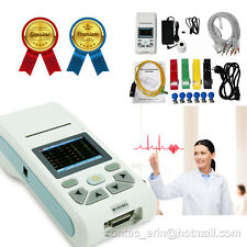 Touch Screen Portable Handheld Ecg90a Electrocardiograph Ecg Machine10 Leads