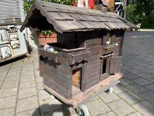 Kindergartenhaus/ Holz/ Miniaturgartenhaus