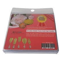 High Quality 3D Jelly Gelatin Tools Art Flowers Tools Carnation (5pcs/Set #4)