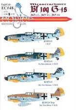 EagleCals Decals 1/32 MESSERSCHMITT Bf-109G-4 Fighter JG-27, JG-52, & JG-53