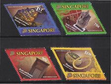 SINGAPORE 2015 INDIAN HERITAGE CENTRE COMP. SET OF 4 STAMPS IN MINT MNH UNUSED