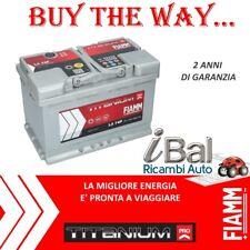 BATTERIA AVVIAMENTO PER AUTO 74Ah 680EN 12V POLO POSITIVO A DX FIAMM - 7905154