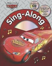 Disney Pixar Cars Sing Along with CD (Disney Singalong), Disney | Hardcover Book