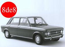 Fiat 128 (1977) - Workshop Manual on CD