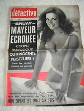 Détective 1972 PERONNE MONTAUBAN OIGNIES BRUAY ARTOIS