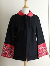 Jing Xai - S M Tangzhuang Chinese Silk Luxury Art Embroidered Sweater Jacket