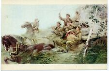 1960s North Korea Fighting Japanese Imperialism Military Russian postcard