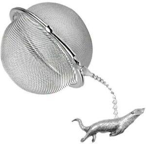 ppa18 Otter  2 inch Tea Ball Mesh Infuser Stainless Sphere  Strainer