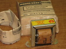 NOS Boxed UNIVERSITY Model 5433 30-watt Line Matching transformer