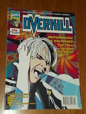 OVERKILL #19 MARVEL BRITISH MAGAZINE 1 JANUARY 1993 DEATHS HEAD II DIGITEK (A)^