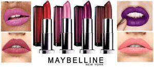 Maybelline Lipstick 💄 colorsensational / matte / bold / shine 💋 over 90 shades