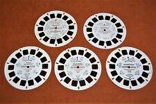 Lot of 5 Assorted View-Master reels: Tweety & Sylvester, Road Runner, 3-D, more