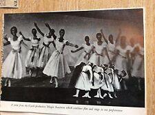 r5 ephwmera 1950s tv film picture the magic lantern czech dance programme