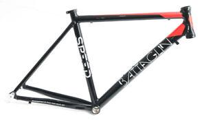 Battaglin Speed 700c LG 54cm Aluminum Road Bike Frame Black / Red NEW