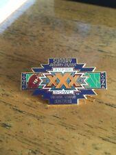 Super Bowl 30 ,Xxx. Collector pin, Dallas Cowboys vs Pittsburgh Steelers
