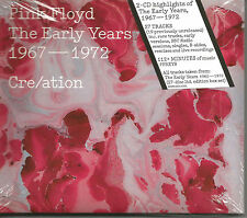 PINK FLOYD The Early Years Cre/ation  RARE PROMO STICKERED PRESSING 2 CD SEALED