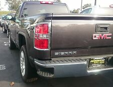 GMC SIERRA 2014 - 2016 TFP ABS CHROME TAIL LIGHT COVER